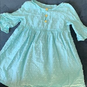Tiffany blue beautiful dress